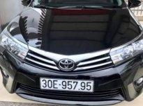 Cần bán Toyota Corolla Altis 1.8MT sản xuất 2017, màu đen, xe vẫn còn bảo hiểm thân vỏ giá 123 triệu tại Hà Nội