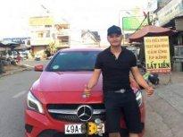 Bán Mercedes CLA200 2014, màu đỏ, nhập khẩu nguyên chiếc giá 870 triệu tại Lâm Đồng