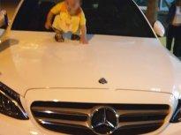 Bán xe Mercedes C300 AMG sản xuất năm 2016, số tự động, máy xăng, màu trắng, mới đi 16500 km giá 1 tỷ 530 tr tại Tp.HCM