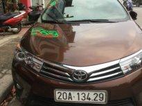 Cần bán Toyota Corolla altis 1.8 AT năm 2015, màu nâu giá 660 triệu tại Thái Nguyên