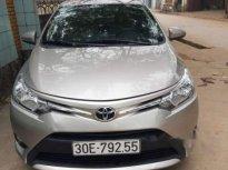 Cần bán Toyota Vios E đời 2017, màu bạc còn mới, 495tr giá 495 triệu tại Vĩnh Phúc