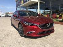 Mazda Gia Lai bán xe Mazda 6 2.0 Premium, màu đỏ cao cấp mới, xe có sẵn giao ngay, hỗ trợ góp 80% đưa trước 300tr nhận xe giá 899 triệu tại Gia Lai