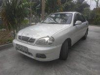 Cần bán gấp Daewoo Lanos SX đời 2002, màu trắng   giá 75 triệu tại Nghệ An