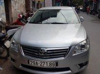 Cần bán gấp Toyota Camry 2.4G sản xuất 2011, màu bạc, chính chủ tư nhân đi rất ít còn mới giá 650 triệu tại Hà Nội