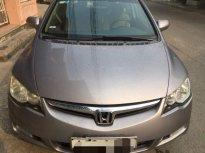 Cần bán lại xe Honda Civic năm sản xuất 2007, màu xám số sàn, giá 298tr giá 298 triệu tại TT - Huế