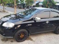 Bán Daewoo Gentra 2009, màu đen, xe zin 90% giá 220 triệu tại Bình Dương