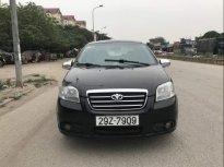 Cần bán lại xe Daewoo Gentra 1.5MT đời 2007, màu đen chính chủ, giá tốt giá 135 triệu tại Hà Nội
