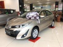 Bán xe Toyota Vios G số tự động 2019, hỗ trợ vay trả góp giá 606 triệu tại Tp.HCM