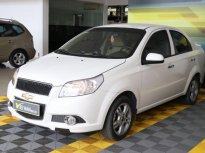 Bán xe Chevrolet Aveo LTZ 1.4AT năm 2016, màu trắng, giá tốt giá 338 triệu tại Tp.HCM