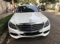 Cần bán lại xe Mercedes C250 Exclusive năm sản xuất 2017, màu trắng giá 1 tỷ 550 tr tại Hà Nội