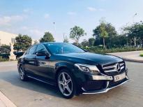 Nhà em bán C300 AMG SX15 màu đen Full Options giá 1 tỷ 450 tr tại Hà Nội
