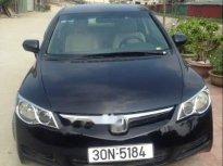 Bán Honda Civic MT sản xuất 2008, màu đen chính chủ giá 296 triệu tại Hà Nội