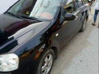 Cần bán gấp Daewoo Lacetti đời 2009, màu đen giá 172 triệu tại Nghệ An
