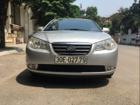 Bán Hyundai Elantra đời 2009, màu bạc, nhập khẩu nguyên chiếc số sàn giá 240 triệu tại Hà Nội