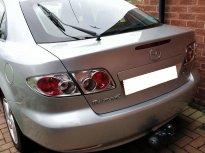 Cần bán xe Mazda 6 số sàn đời 2004 đk 2005 màu bạc giá 258 triệu tại Tp.HCM