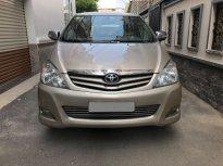 Gia đình cần bán Toyota Innova G SR 2010, số sàn, màu vàng cát, giá 435 triệu tại Tp.HCM