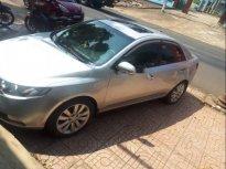 Cần bán Kia Forte đời 2011, màu bạc, 1 chủ mua mới từ đầu giá 345 triệu tại Đắk Lắk