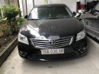 Bán gấp Toyota Camry G 2011, màu đen, chính chủ  giá 698 triệu tại Hải Phòng