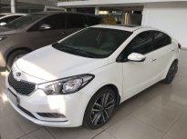Bán Kia K3 1.6AT màu trắng, sản xuất 2016 biển Sài Gòn đi 33000km, xe đẹp giá 536 triệu tại Tp.HCM
