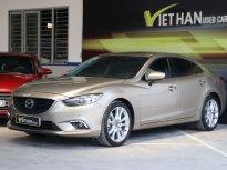 Bán Mazda 6 2.5AT sản xuất 2015, màu vàng, giá 728tr giá 728 triệu tại Hà Nội