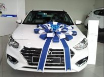 Bán Hyundai Accent 2019, màu trắng. Giao xe ngay giá 425 triệu tại Tp.HCM