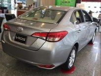 Cần bán xe Toyota Vios năm sản xuất 2019, màu bạc giá cạnh tranh giá 496 triệu tại Đồng Nai
