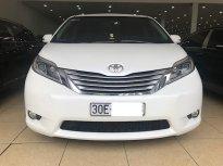 Bán ô tô Toyota Sienna Limited 2016, màu trắng, nhập khẩu giá 2 tỷ 950 tr tại Hà Nội