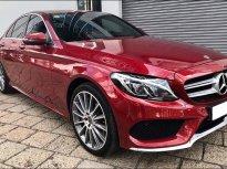 Cần bán xe Mercedes C300 AMG 2018 màu đỏ giá 1 tỷ 660 tr tại Tp.HCM