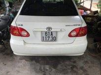 Gia đình bán Toyota Corolla altis sản xuất năm 2002, màu trắng giá 205 triệu tại Bình Dương