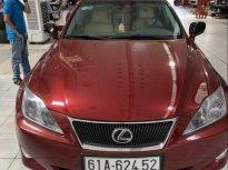 Bán Lexus IS đời 2011, màu đỏ, nhập từ Nhật, đăng ký lần đầu 2011 giá 648 triệu tại Bình Dương