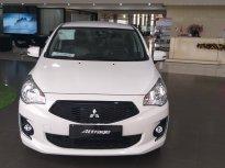 Bán Mitsubishi Attrage CVT đời 2019, màu trắng, nhập khẩu nguyên chiếc, 458 triệu giao tháng 7 giá 458 triệu tại Hà Nội