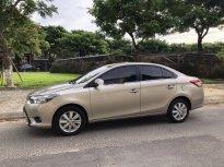 Bán Toyota Vios năm 2017, màu vàng số sàn, giá chỉ 425 triệu giá 425 triệu tại Đà Nẵng