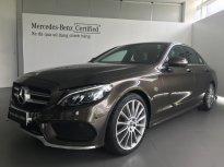 Cần bán Mercedes-Benz C300 2017 AMG màu nâu, nội thất đen, 17.000 km giá 1 tỷ 680 tr tại Tp.HCM