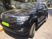 Bán ô tô Toyota Fortuner đời 2013, màu đen giá 625 triệu tại Tp.HCM