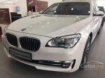 Bán BMW 7 Series 730i đời 2015, màu trắng, nhập khẩu chính chủ giá 2 tỷ 100 tr tại Hà Nội