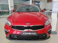 Bán Kia Cerato 2019 màu đỏ, đưa trước 175 triệu nhận xe + 1 năm BHTV giá 559 triệu tại Gia Lai