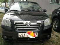 Cần bán Daewoo Gentra sản xuất 2006, màu đen, nhập khẩu giá 135 triệu tại Đà Nẵng