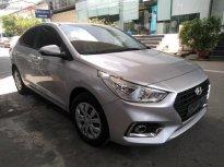 Cần bán xe Hyundai Accent 1.4 MT Base 2019, màu bạc giá 425 triệu tại Tp.HCM
