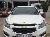 Cần bán xe Chevrolet Cruze 2016, màu trắng, có hỗ trợ trả góp giá 395 triệu tại Tp.HCM