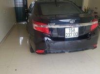 Cần bán lại Toyota Vios năm sản xuất 2016, màu đen, chính chủ giá 435 triệu tại Hải Phòng