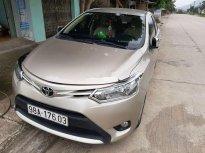 Gia đình bán Toyota Vios E MT sản xuất 2018, màu vàng cát giá 455 triệu tại Bắc Giang
