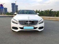 Bán Mercedes C250 năm sản xuất 2015, màu trắng chính chủ giá 1 tỷ 190 tr tại Tp.HCM