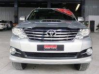 Cần bán lại xe Toyota Fortuner G sản xuất 2016, màu bạc, giá tốt giá 870 triệu tại Tp.HCM