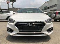 Bán xe Hyundai Accent 1.4 AT 2019, màu trắng giá cạnh tranh giá 499 triệu tại Hải Phòng