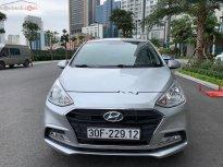 Bán ô tô Hyundai Grand i10 sản xuất năm 2018, màu bạc giá 380 triệu tại Hà Nội