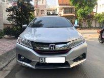Cần bán lại xe Honda City sản xuất 2015, màu bạc xe gia đình giá 465 triệu tại Tp.HCM