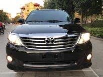 Cần bán xe Toyota Fortuner 2.7V sản xuất 2013, màu đen giá cạnh tranh giá 595 triệu tại Hà Nội