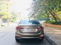 Bán xe cũ Hyundai Accent năm 2018, màu vàng giá 565 triệu tại Hà Nội