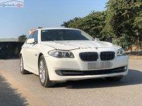 Bán BMW 520i sản xuất 2013, màu trắng, xe nhập giá 1 tỷ 190 tr tại Hà Nội