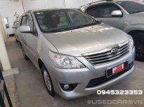 Cần bán gấp Toyota Innova G đời 2013, màu bạc, giá chỉ 520 triệu giá 520 triệu tại Tp.HCM